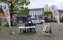 Folkebevægelsen mod EU på Køge Torv